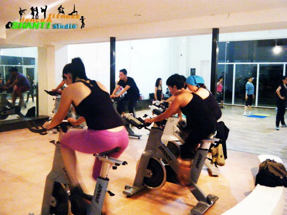 Shanti studio for Clases de spinning