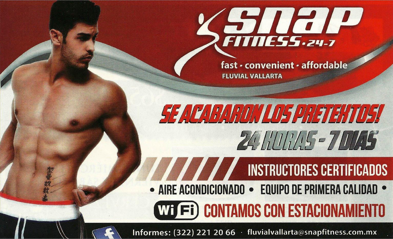 Snap fitness fluvial vallarta for Gimnasio 7 de fitness badalona